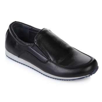 Туфли кожаные на спортивной подошве