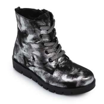 Ботинки кожаные на молнии