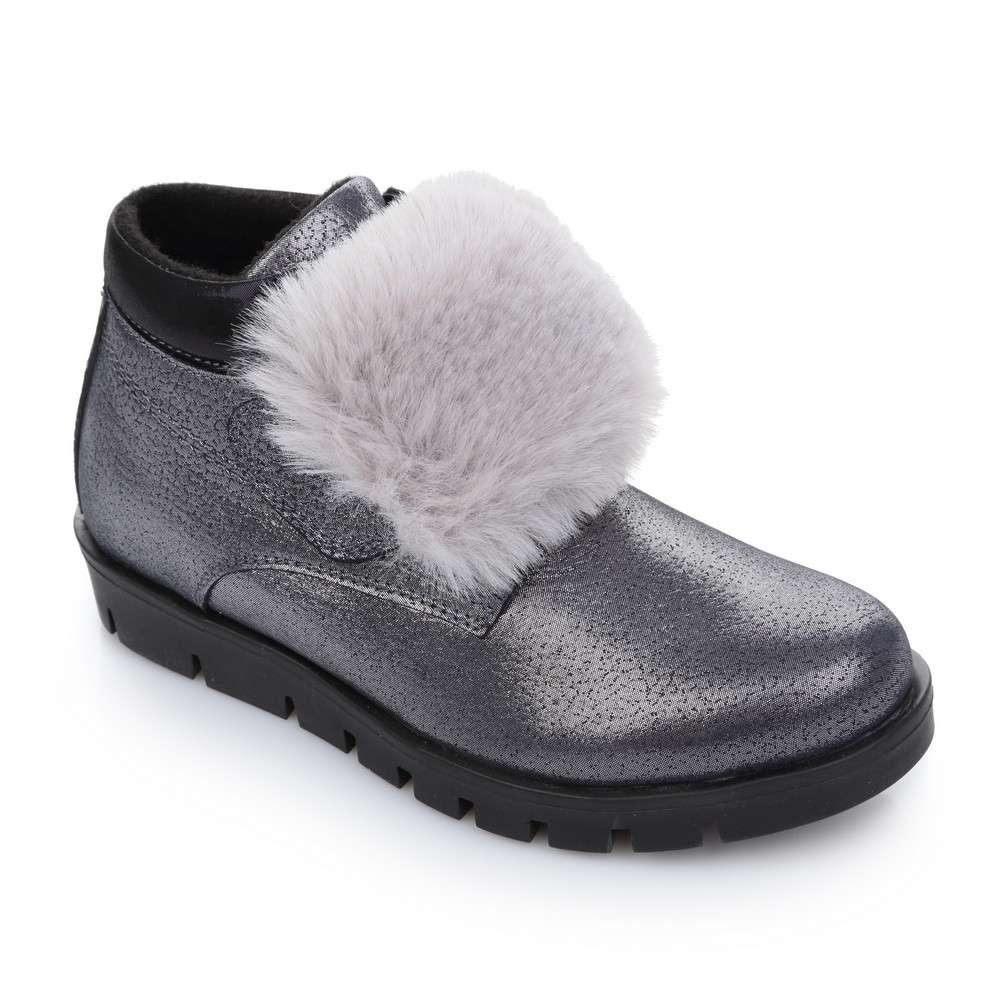 Ботинки кожаные на платформе