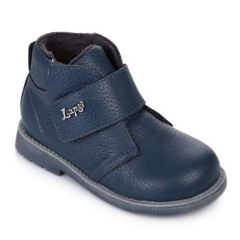 Ботинки кожаные на липучке
