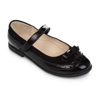Туфли кожаные черные