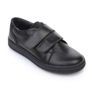 Слипоны кожаные черные