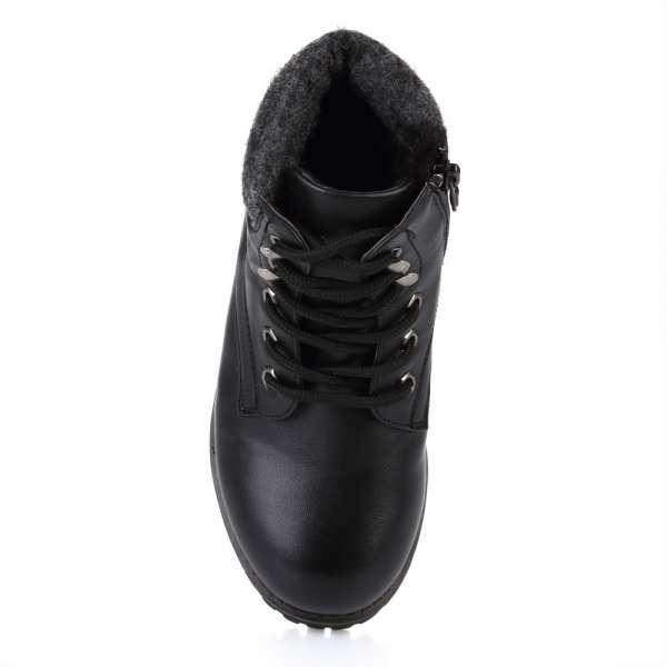 Ботинки на шнуровке и молнии
