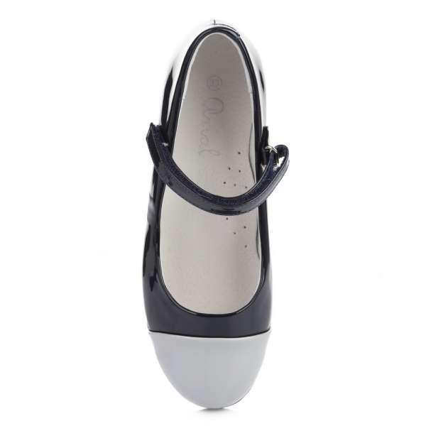 Туфли сине-серые