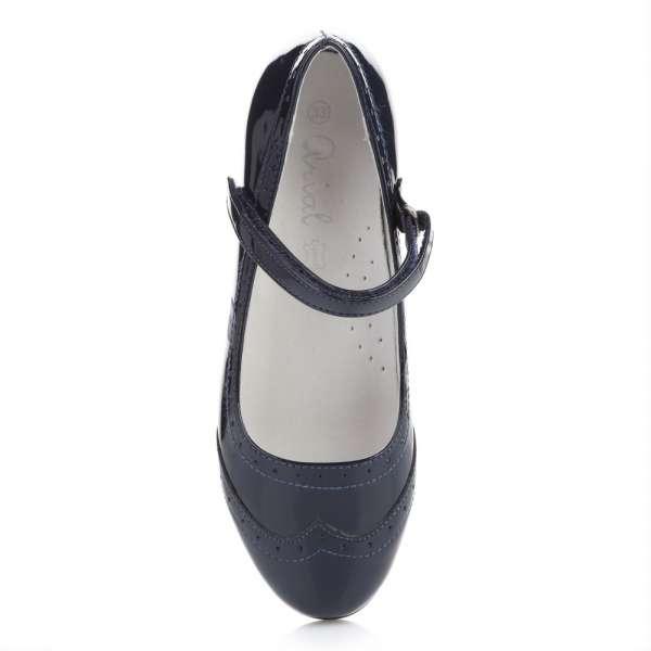 Туфли синий лак