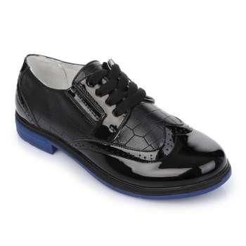Туфли на синей подошве