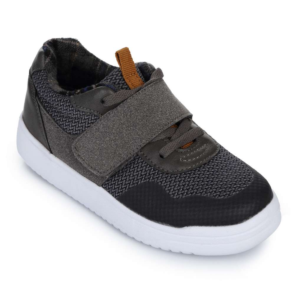 Стильные кроссовки на шнуровке и липучке