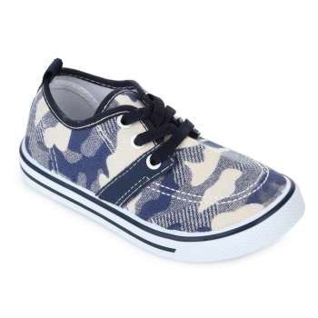 Кеды камуфляж на шнуровке