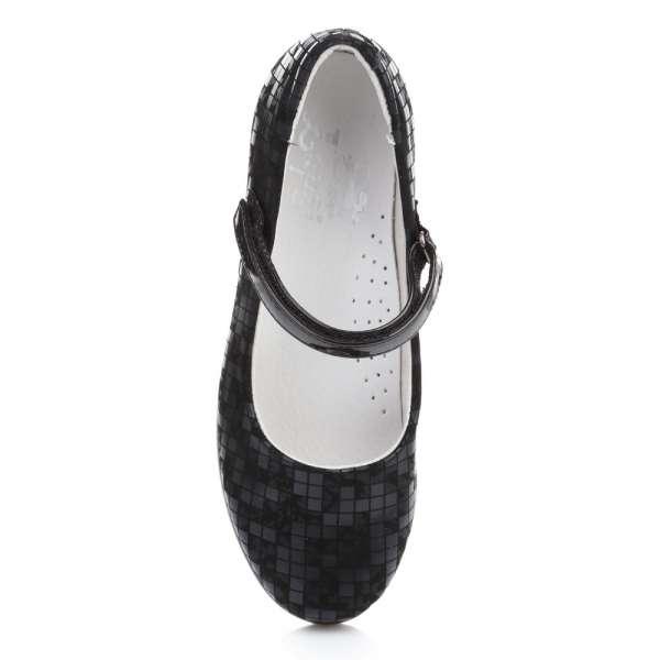 Туфли на ребристой подошве