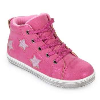 Ботинки розовые звезды