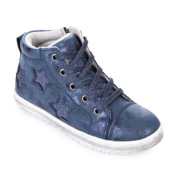 Ботинки синие звезды