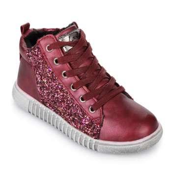 Ботинки с блестками