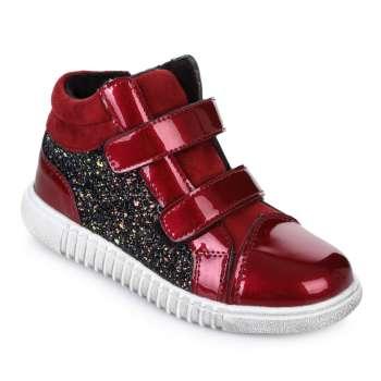 Ботинки с блестками на липучках