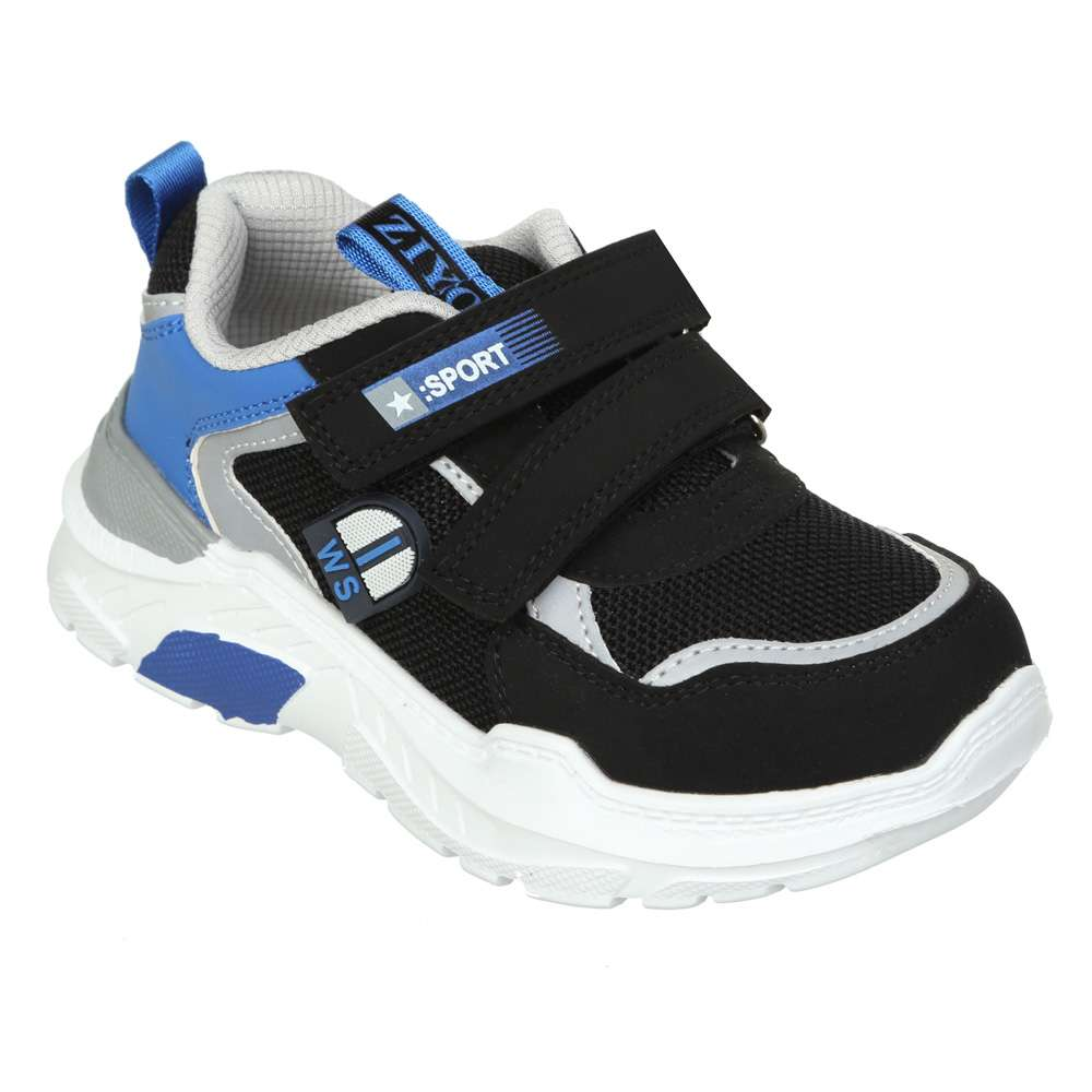 Кросівки на липучках чорні