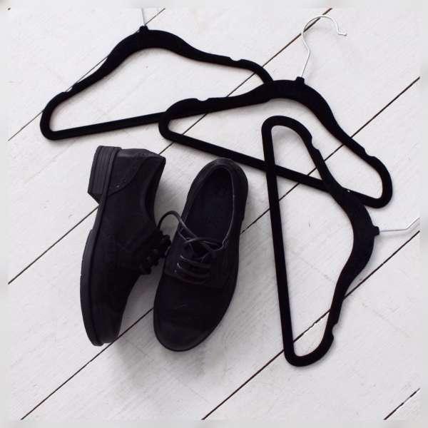 Туфли натуральный нубук на шнуровке
