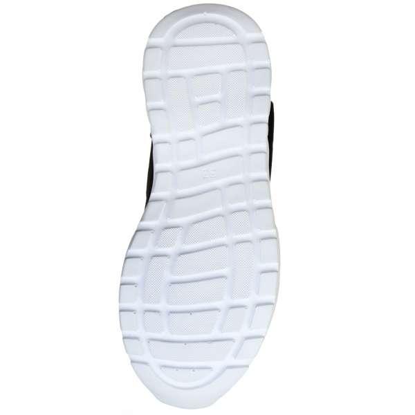 Ботинки кожаные на спортивной белой подошве с Black