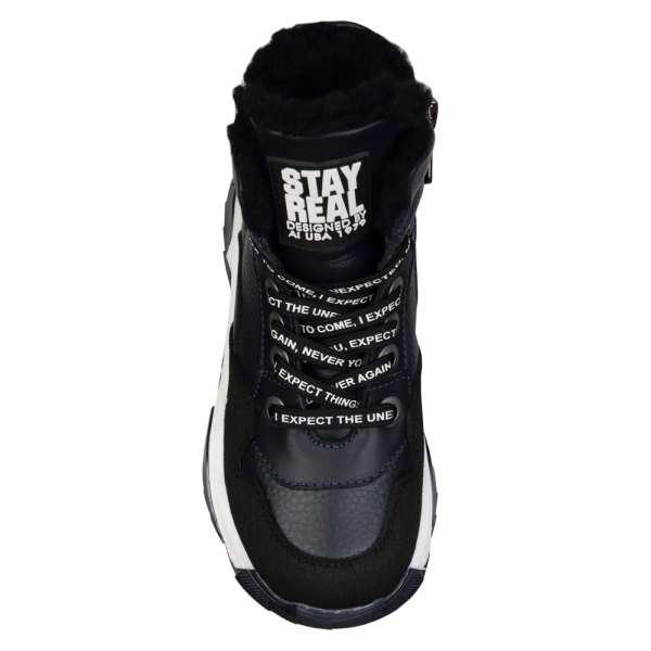 Ботинки кожаные с защитным носком
