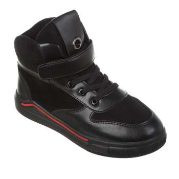 Ботинки на шнуровке-резинке